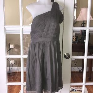 J. Crew Cocktail Bridesmaids dress Slate 16 NEW!